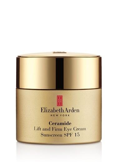 Elizabeth Arden Elizabeth Arden Arden Ceramide Lift And Firm Eye Cream Spf15 Toparlayıcı Sıkılaştırıcı Yaşlanma Karşıtı Göz Kremi 15 Ml Renksiz